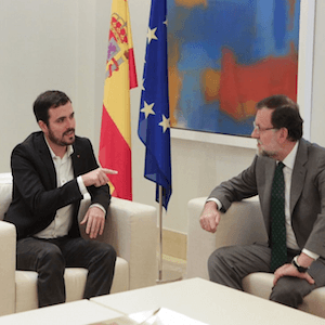La reunión con Rajoy