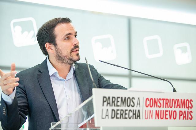 Carta De Año Nuevo A Los Afiliados De Iu Alberto Garzón